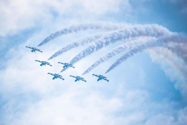 共舞蓝天 融合发展 2017四川国际航空航天展览会在德阳举行